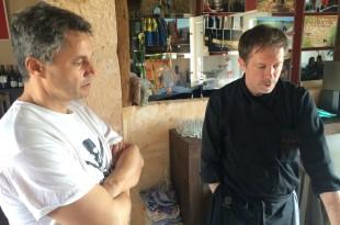 Bernd Bachofer kochte auf der Bodega Maruccia .... Mallorca kocht ...